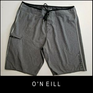 O'neill Men Hyperfreak Board Short Drawstring 38